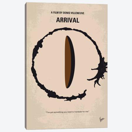 Arrival Minimal Movie Poster Canvas Print #CKG710} by Chungkong Canvas Art Print
