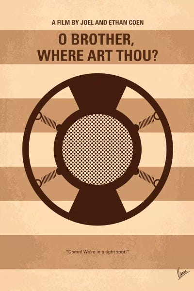 O Brother, Where Art Thou Movie Poster O' Brother Where Art T...