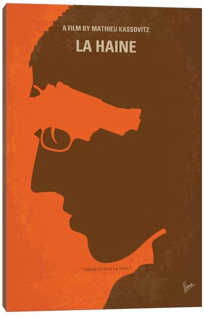 La Haine Minimal Movie Poster Canvas Art Print
