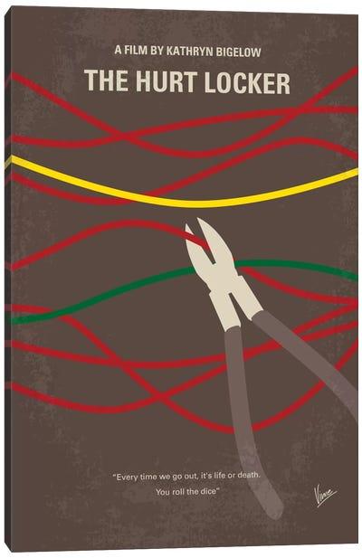 The Hurt Locker Minimal Movie Poster Canvas Art Print
