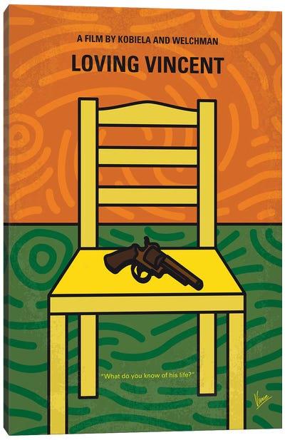 Loving Vincent Minimal Movie Poster Canvas Art Print