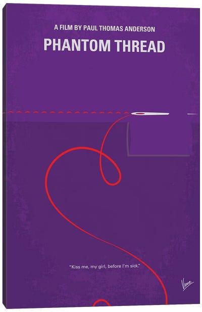 Phantom Thread Minimal Movie Poster Canvas Art Print