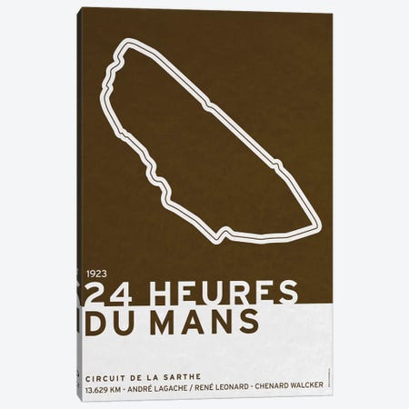 1923 24 Heures du Mans Canvas Print #CKG770} by Chungkong Canvas Print
