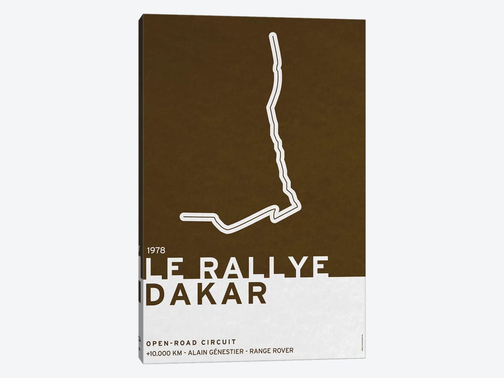 1978 Le Rallye Dakar by Chungkong 1-piece Canvas Art