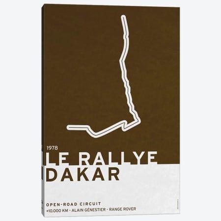 1978 Le Rallye Dakar Canvas Print #CKG777} by Chungkong Canvas Wall Art