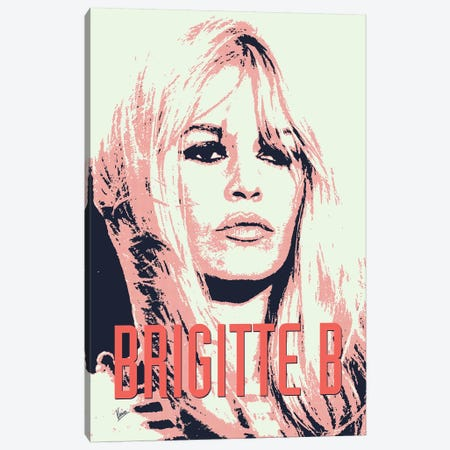 60's Diva Brigitte B. Canvas Print #CKG780} by Chungkong Canvas Artwork