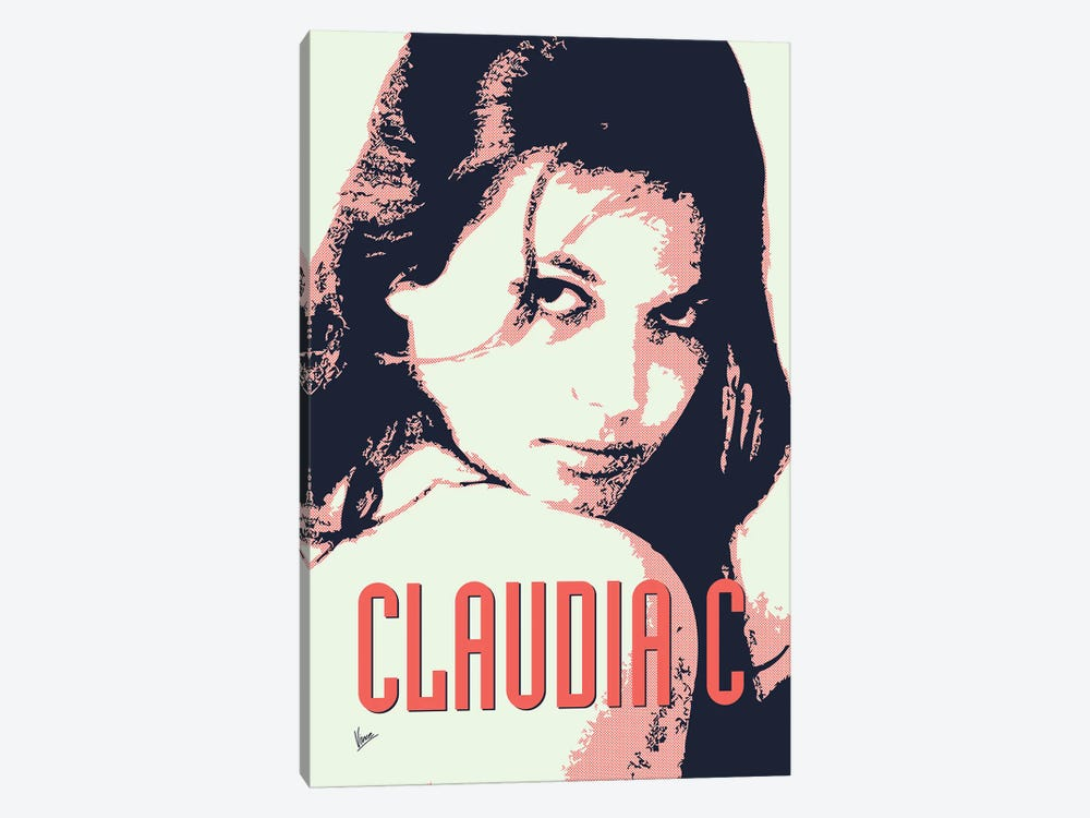 60's Diva Claudia C. by Chungkong 1-piece Canvas Print