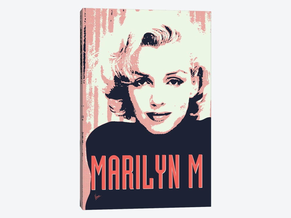 60's Diva Marilyn M. 1-piece Canvas Art