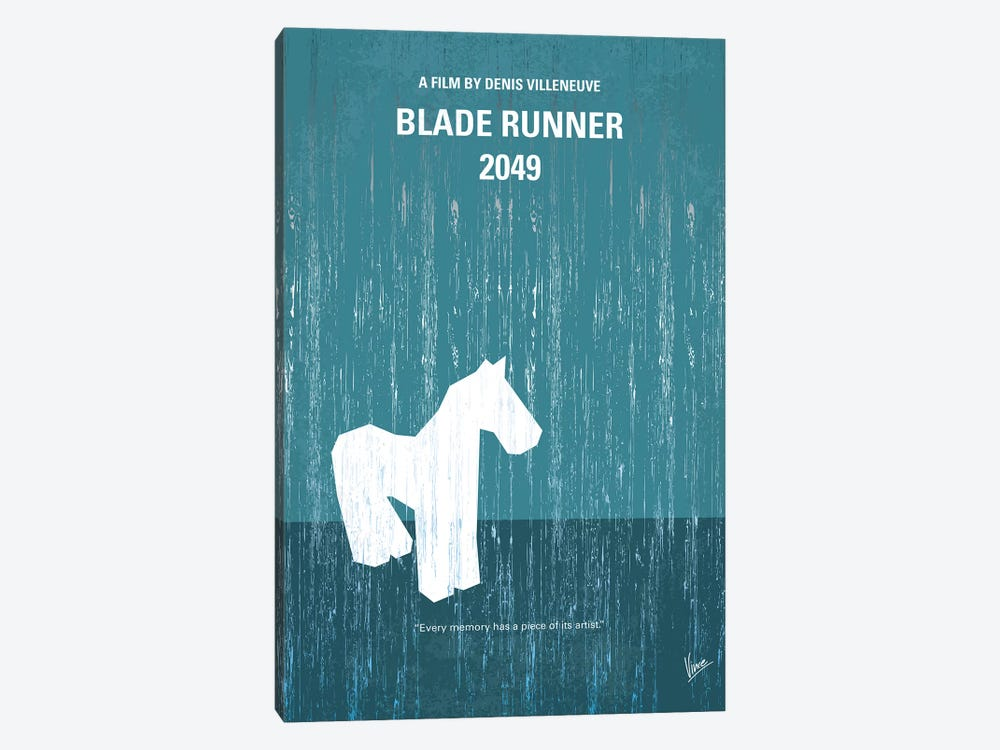 Blade Runner 2049 Minimal Movie Poster by Chungkong 1-piece Canvas Artwork