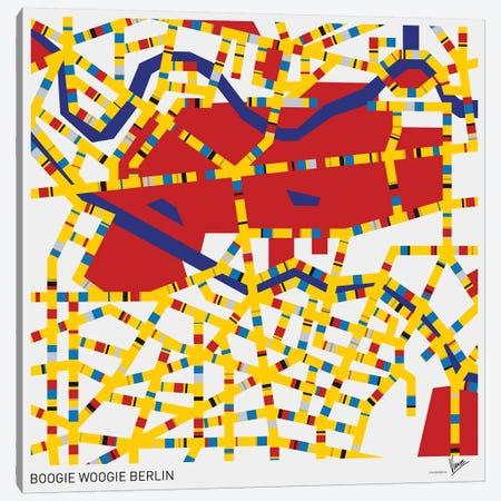 Boogie Woogie Berlin Canvas Print #CKG804} by Chungkong Canvas Art