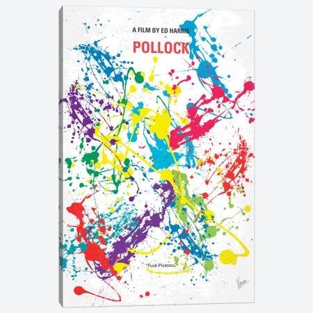 Pollock Minimal Movie Poster Canvas Print #CKG82} by Chungkong Canvas Print