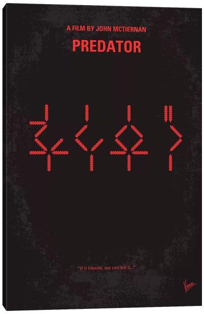 Predator Minimal Movie Poster Canvas Art Print
