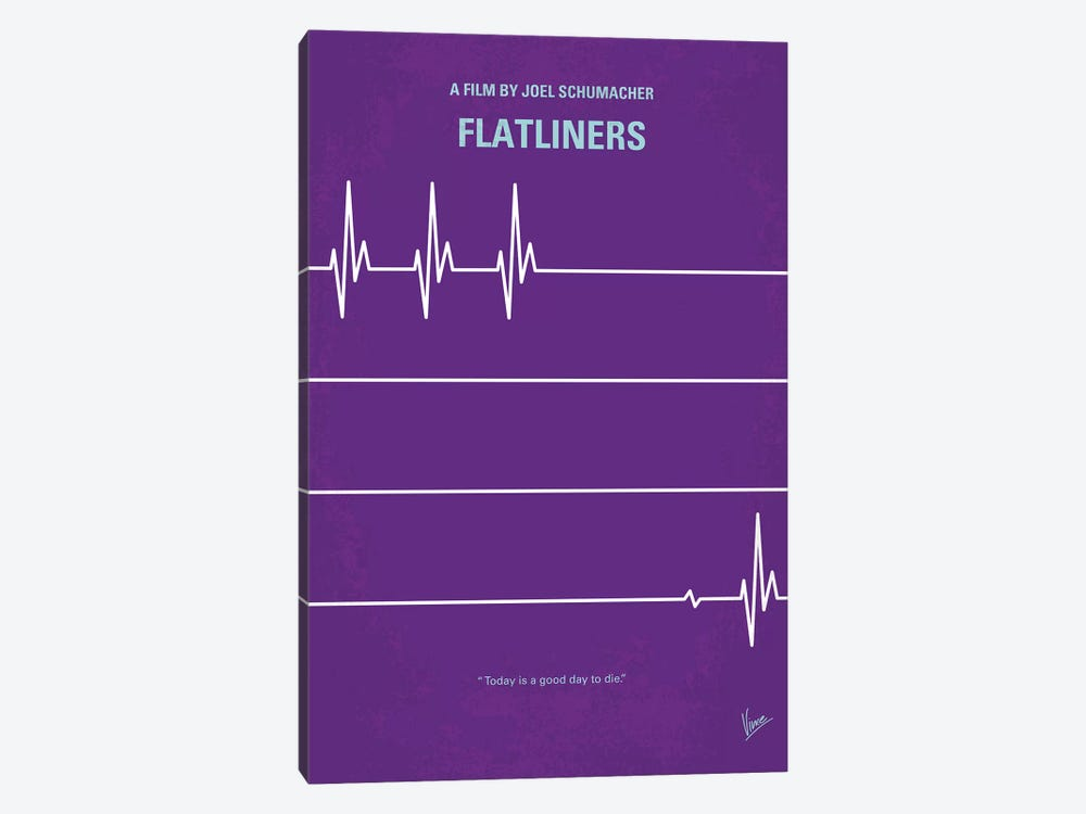 Flatliners Minimal Movie Poster by Chungkong 1-piece Canvas Artwork