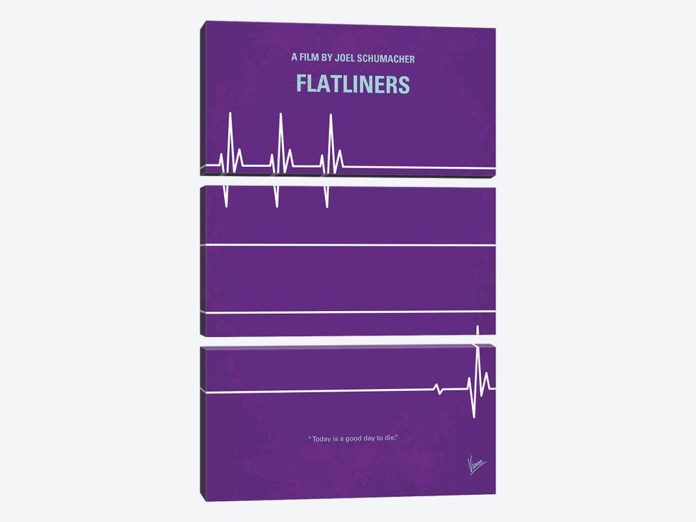 Flatliners Minimal Movie Poster by Chungkong 3-piece Canvas Wall Art