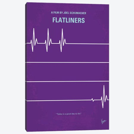 Flatliners Minimal Movie Poster Canvas Print #CKG873} by Chungkong Canvas Artwork