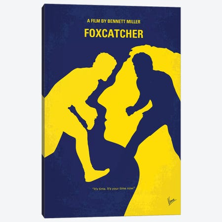 Foxcatcher Minimal Movie Poster Canvas Print #CKG874} by Chungkong Canvas Print