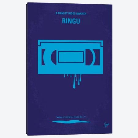 Ringu Minimal Movie Poster Canvas Print #CKG87} by Chungkong Canvas Art