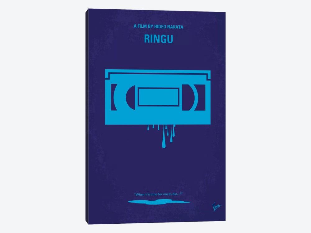 Ringu Minimal Movie Poster by Chungkong 1-piece Canvas Art