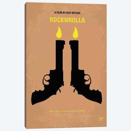Rocknrolla Minimal Movie Poster Canvas Print #CKG88} by Chungkong Art Print