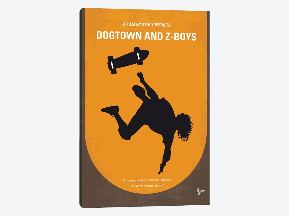 Dogtown And Z-boys Minimal Movie Poster by Chungkong 1-piece Art Print