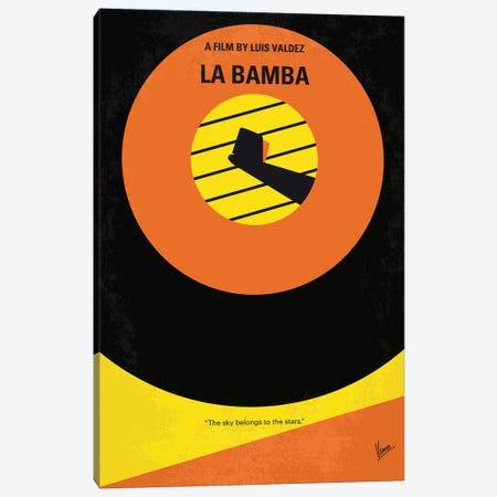 La Bamba Minimal Movie Poster Canvas Print #CKG903} by Chungkong Canvas Wall Art