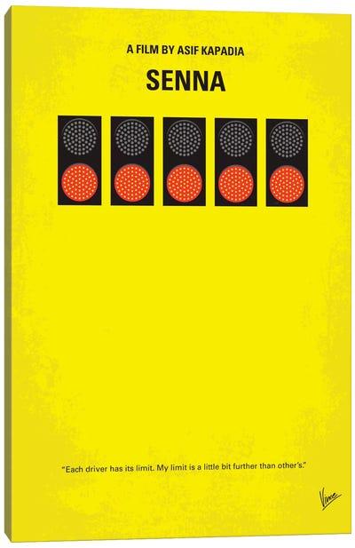 Senna Minimal Movie Poster Canvas Art Print