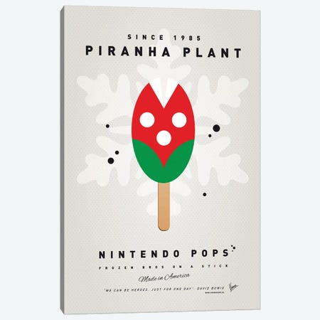 Nintendo Ice Pop XII Canvas Print #CKG975} by Chungkong Canvas Artwork