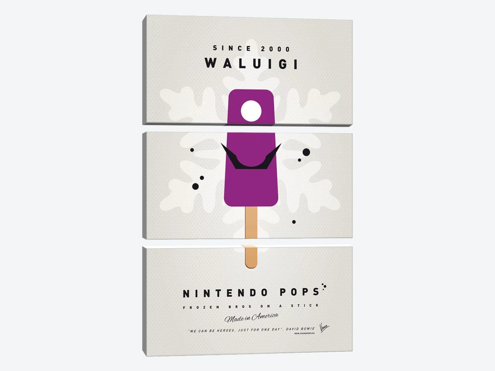 Nintendo Ice Pop XVI by Chungkong 3-piece Art Print