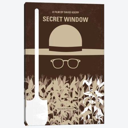 Secret Window Minimal Movie Poster Canvas Print #CKG999} by Chungkong Canvas Art Print