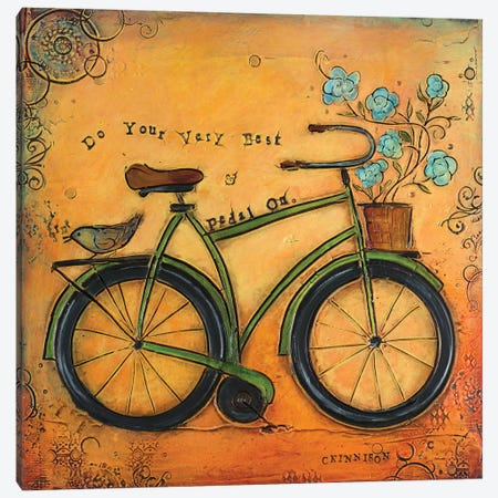 Love is Always the Answer I Canvas Print #CKI12} by Carolyn Kinnison Canvas Art