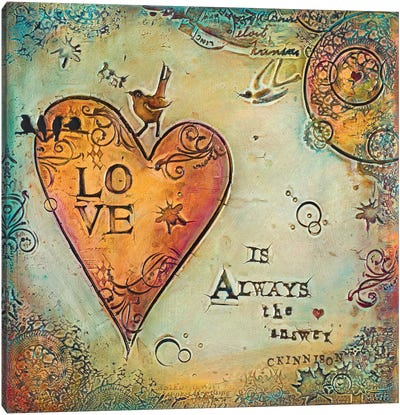 Love is Always The Answer II Canvas Art Print