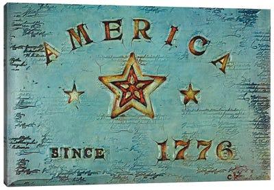 America 1776 Canvas Art Print