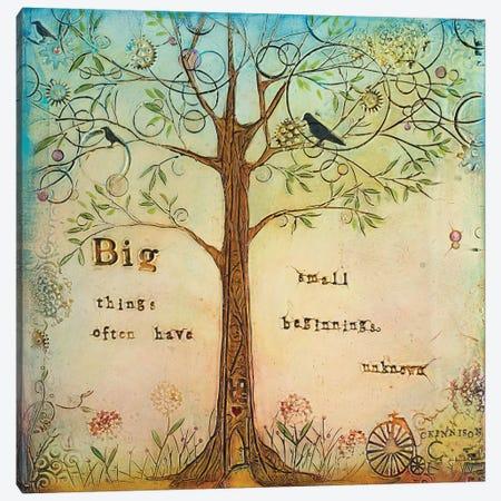 Big Things I Canvas Print #CKI4} by Carolyn Kinnison Canvas Artwork