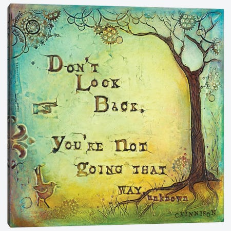 Don't Look Back II Canvas Print #CKI7} by Carolyn Kinnison Canvas Wall Art