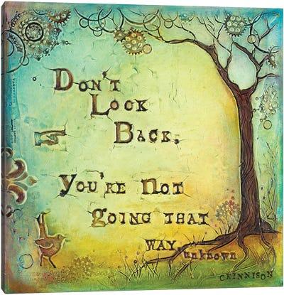 Don't Look Back II Canvas Art Print
