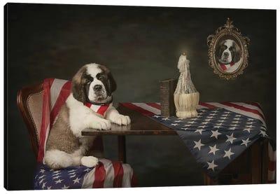 Puppy Love Canvas Art Print