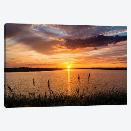 Sunset - Fleet Head Creek Canvas Print #CKP20} by Colin Kemp Photography Canvas Art