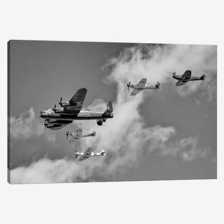 Battle Of Britain Flight - Thompson Formation Canvas Print #CKP24} by Colin Kemp Photography Canvas Print