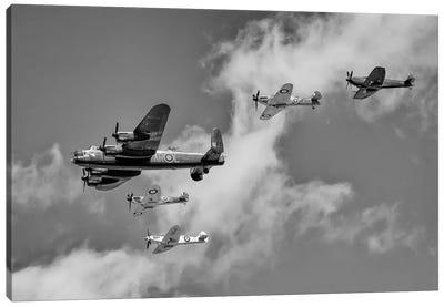 Battle Of Britain Flight - Thompson Formation Canvas Art Print