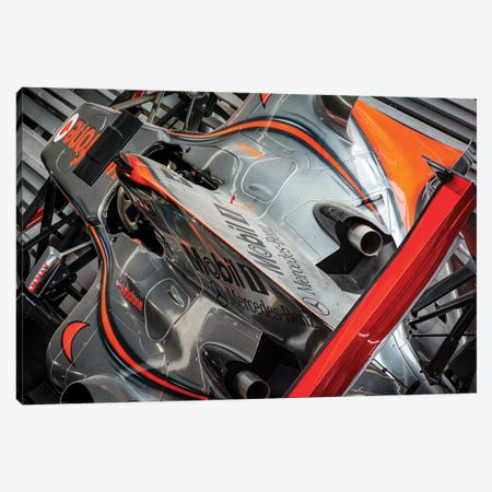Mclaren Formula 1 Car Canvas Print #CKP27} by Colin Kemp Photography Canvas Art Print