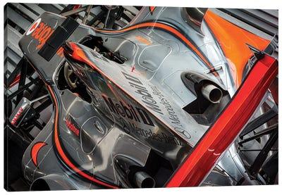 Mclaren Formula 1 Car Canvas Art Print