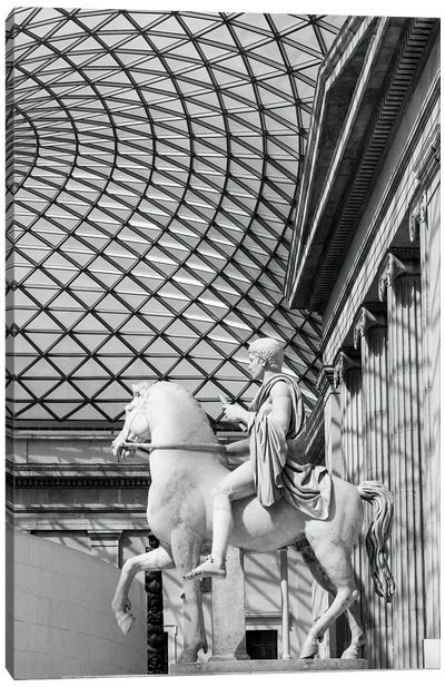 Great Court Of The British Museum Canvas Art Print