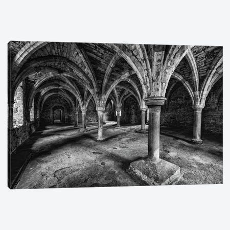 The Novices Common Room, Battle Abbey Canvas Print #CKP29} by Colin Kemp Photography Canvas Wall Art