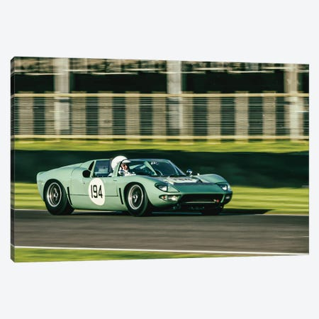 Gt40 Roadster At Goodwood Revival Canvas Print #CKP2} by Colin Kemp Photography Art Print