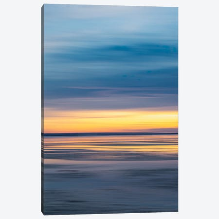 Abstract Sunset - Southend Canvas Print #CKP46} by Colin Kemp Photography Canvas Print