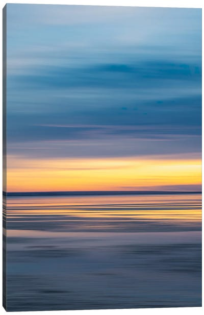Abstract Sunset - Southend Canvas Art Print