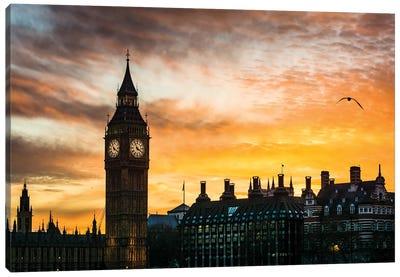 Elizabeth Tower - Big Ben, London Canvas Art Print