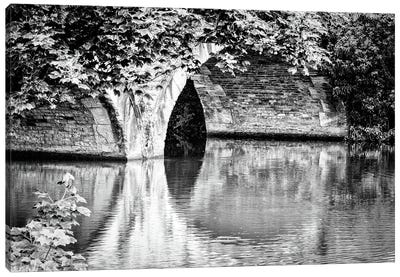 Rustic Bridge, Oxford Canal Canvas Art Print