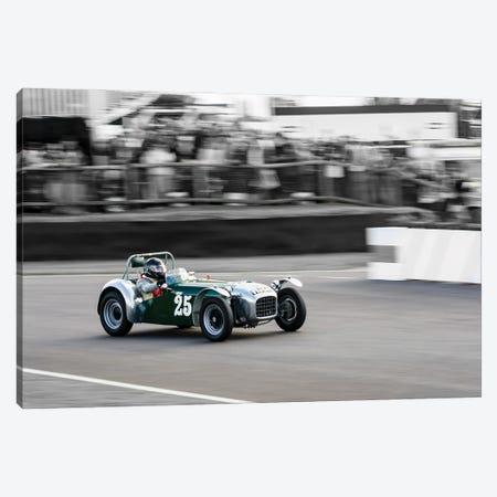 1954 Lotus Mk Vi Racing At Goodwood Revival Canvas Print #CKP50} by Colin Kemp Photography Canvas Print