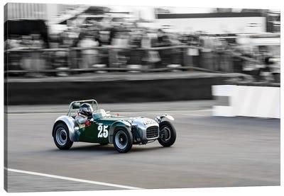 1954 Lotus Mk Vi Racing At Goodwood Revival Canvas Art Print